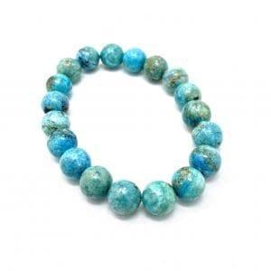 Opal Bracelet Blue 10mm