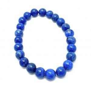 Lapis Lazuli Bracelet Denim 8mm