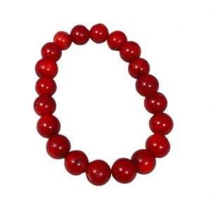 Coral Bracelet A Quality 10mm