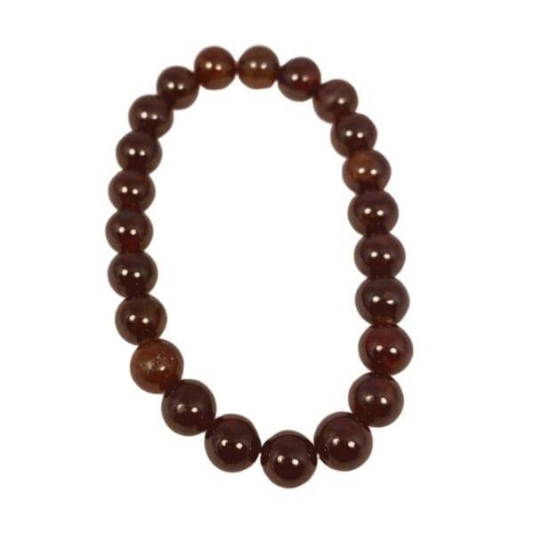 Garnet Bracelet AA Quality 8mm