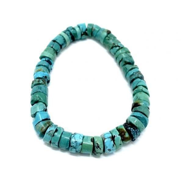 Turquoise Bracelet Heishi