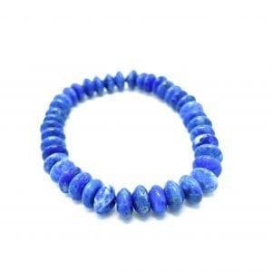 Lapis Lazuli Bracelet Rondelle 8mm