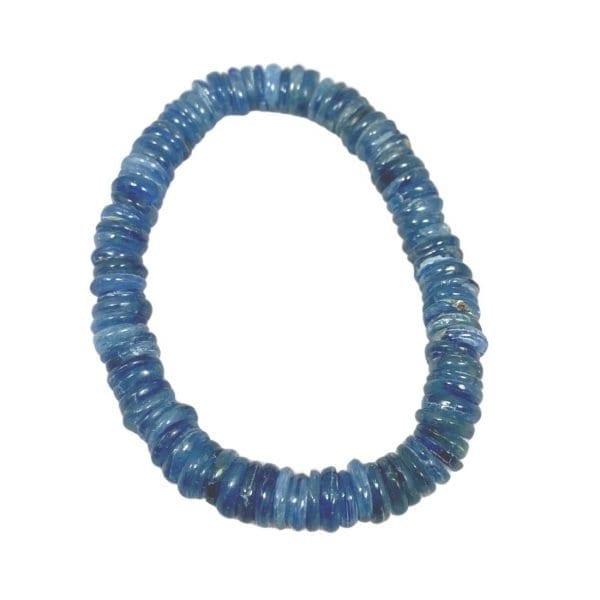 Kyanite Bracelet Heishi