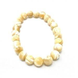 Mother Of Pearl Bracelet 8mm