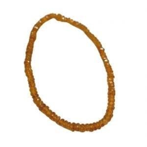 Hessonite Garnet Bracelet Faceted