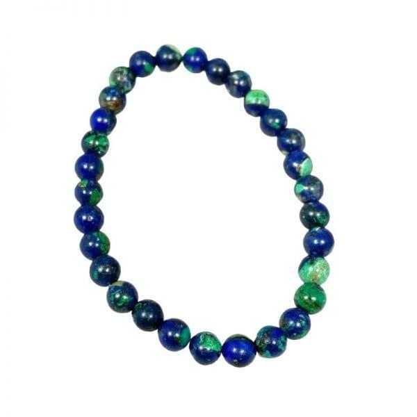 Azurite Bracelet 6mm