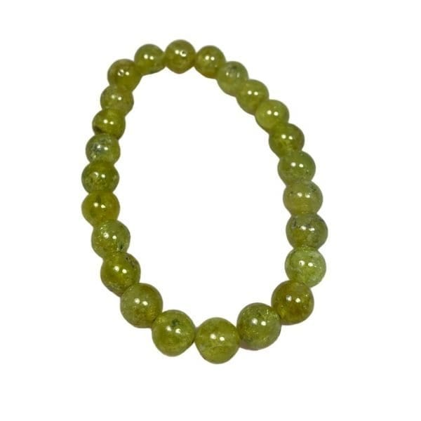 Green Garnet Bracelet 8mm
