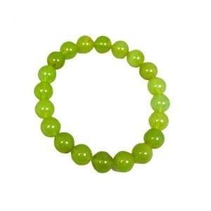 Amber (Green) Bracelet 10mm