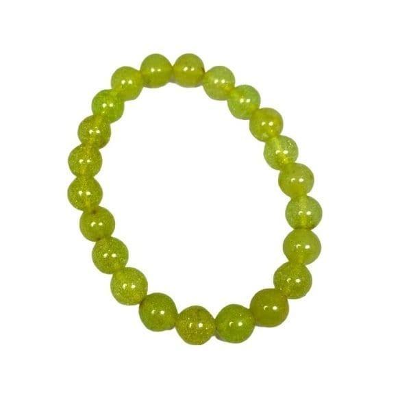 Amber (Green) Bracelet 9mm