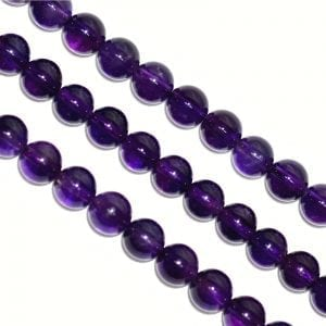 Amethyst AA Quality 8mm Round Beads (15.5' In. Strand)