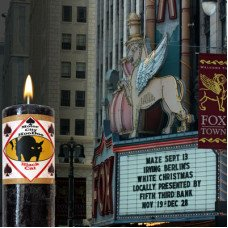 Black Cat Motor City Hoo Doo Candle