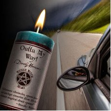 Outta My Way! Wicked Witch Mojo Candle