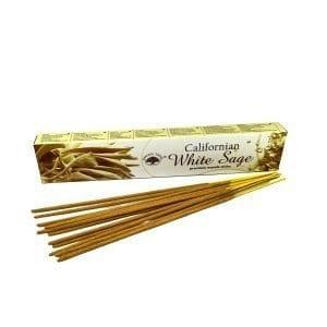 Californian White Sage Incense Sticks (15 Gram Box)