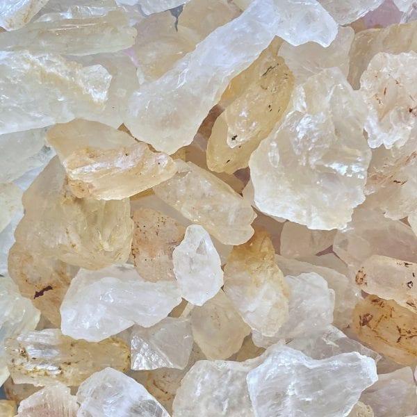 Petalite Raw Stone