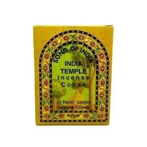 India Temple Incense Cones (25 Ct.)