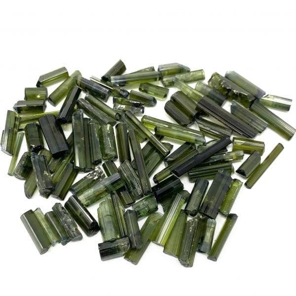 Green Tourmaline Rod