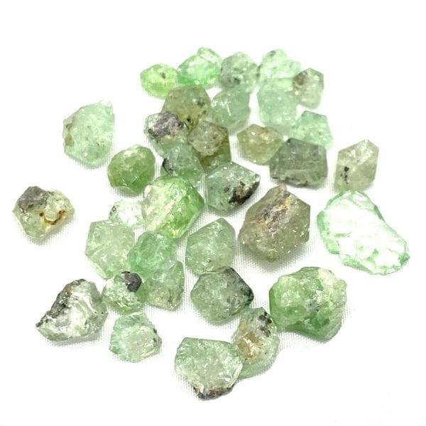 Tsavorite Garnet Raw Stone