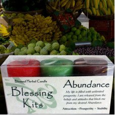 abundance kit candles