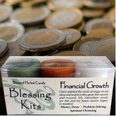 financial blessings kit candles