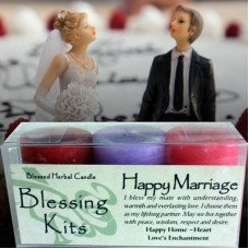 happy marriage kit candles