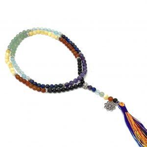 108 8mm beads chakra mala