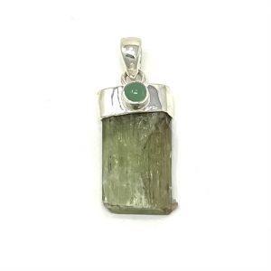 Green Kyanite Pendant