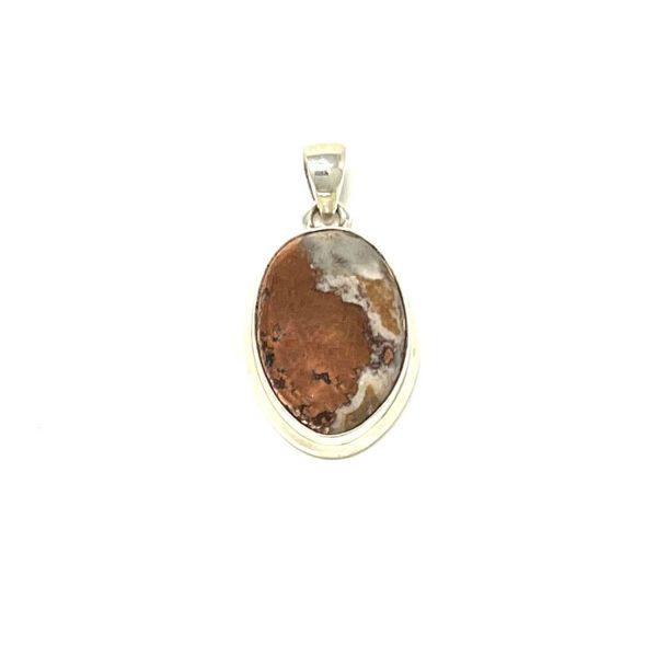 Copper Agate Pendant