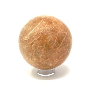 Peach Moonstone Sphere