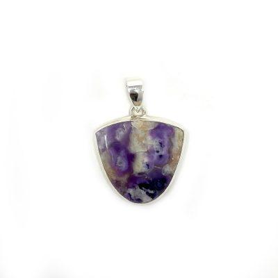 Violet Flame Opal Pendant