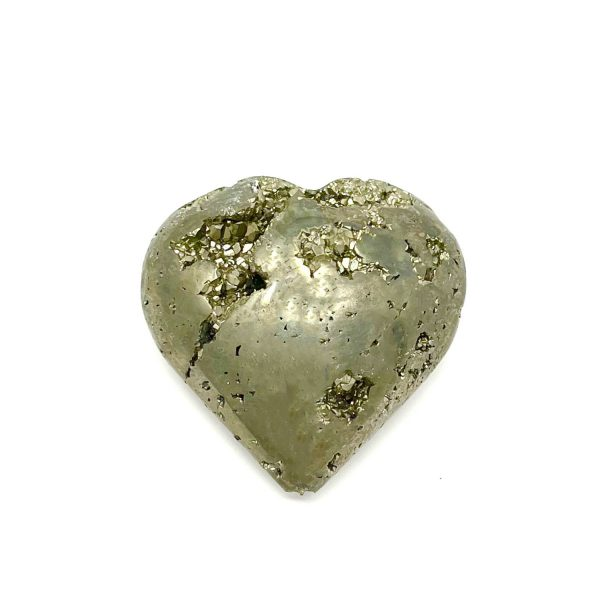 Pyrite Heart - approx. three inches